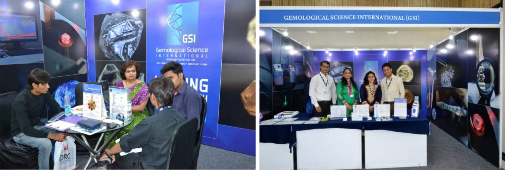 GSI the First Diamond Grading Institute to bring International Standards to India participates in the 2nd edition of DDES 1