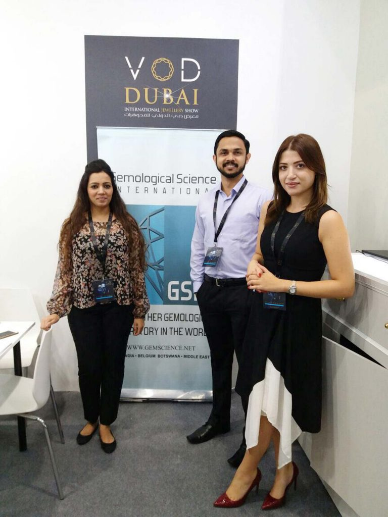 GSI successful contribution at VOD Dubai International Jewelry show! 6