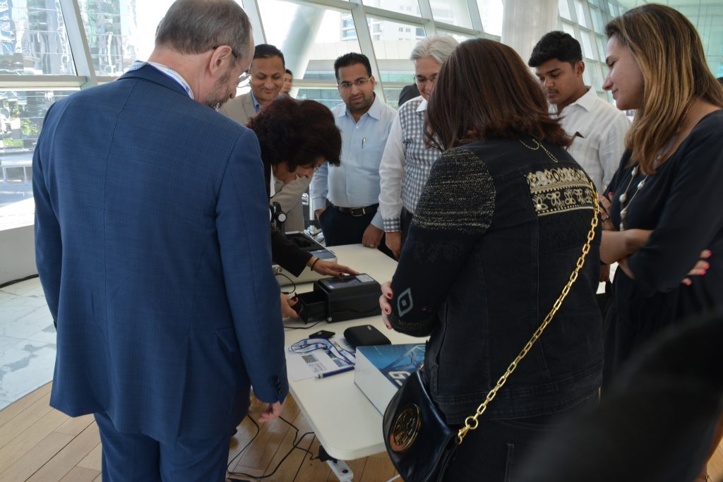 GSI conducts live demo jewelry testing at Dubai Seminar, DMCC 3
