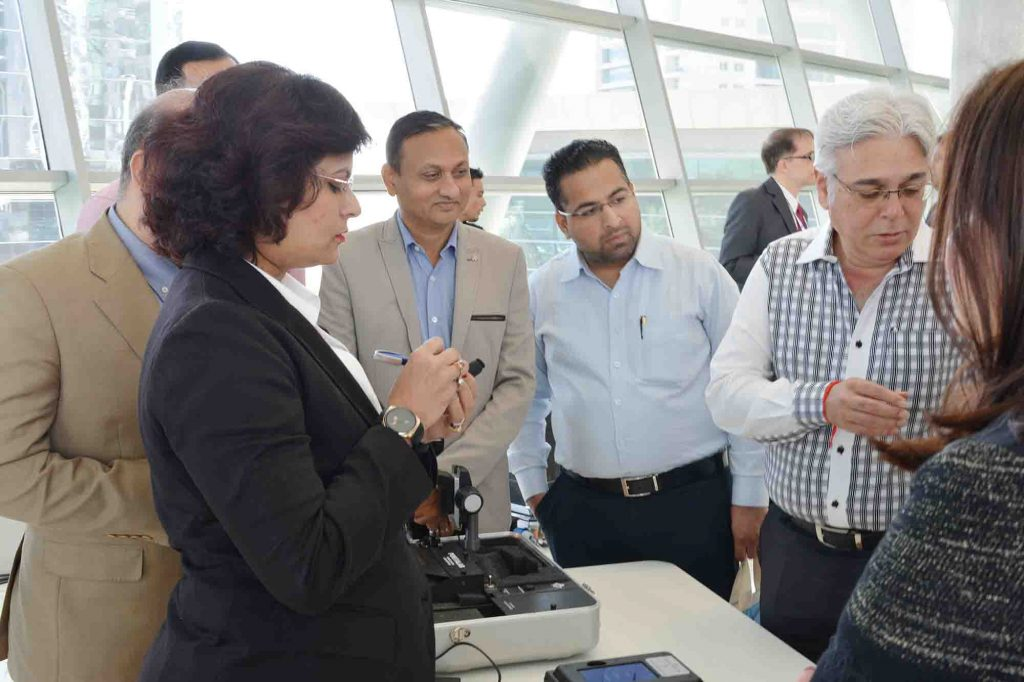 GSI conducts live demo jewelry testing at Dubai Seminar, DMCC 4