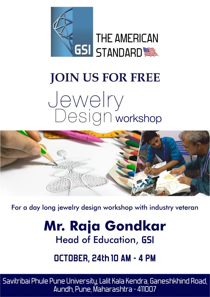 GSI's FREE JEWELRY DESIGN WORKSHOP COMING TO THE CITY OF PUNE 2